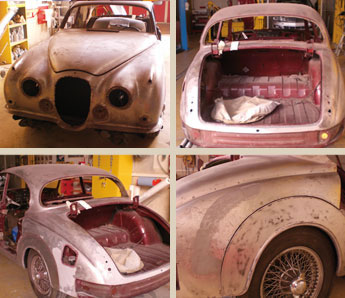 Restauration Jaguar